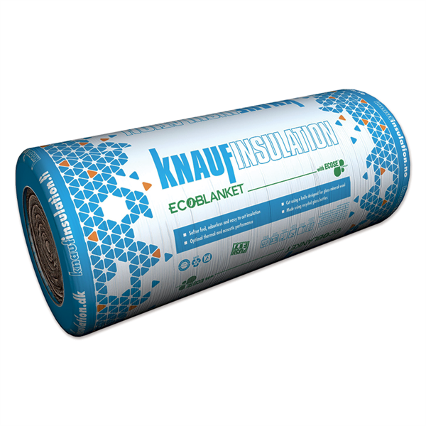 KNAUF Insulation Ecoblanket 37 - isolering i ruller